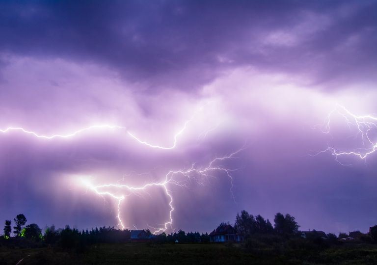 Tormenta eléctrica; Rayos
