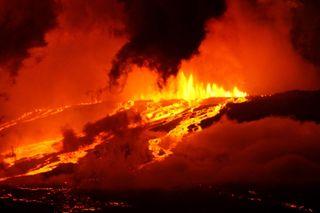 Pequeñas burbujas cuentan las historias de las erupciones volcánicas