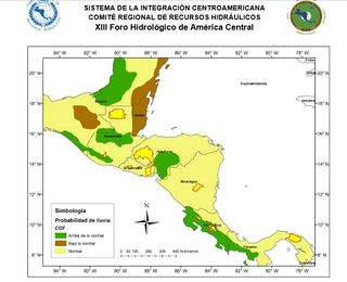 Perspectiva hidrológica de América Central