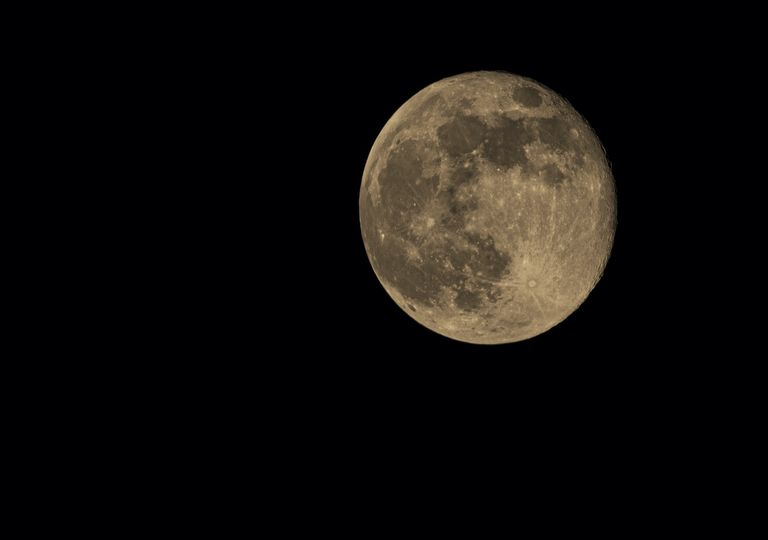 The pink supermoon does not always appear 'pinkish'.