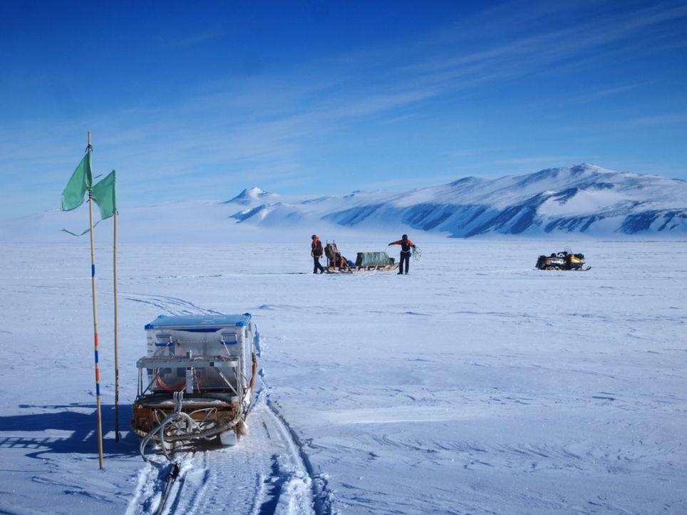 antartida hielo marino ross calentamiento global