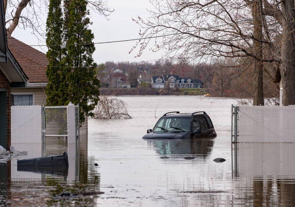 Inundação;