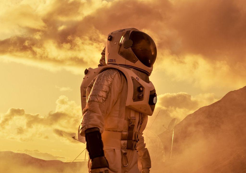 humano en Marte