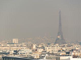 La pollution de l'air responsable d'un assombrissement du ciel ?
