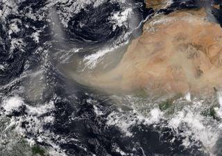 Polvo del Sahara se dirige a México y Centroamérica