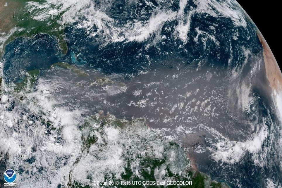 Imagen de satélite NASA-NOAA