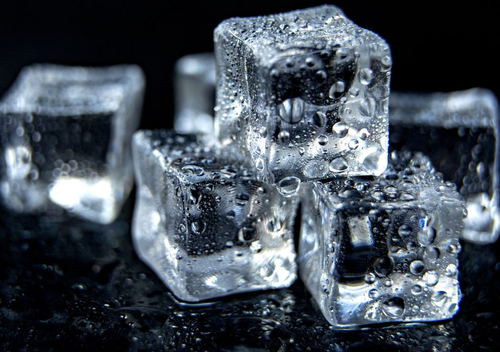 gelo, calor, congelar, experimento