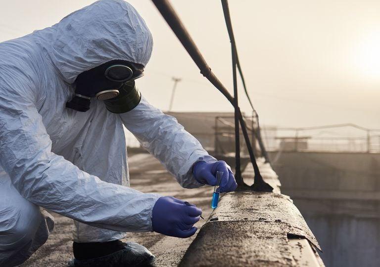 Toma de mediciones contaminantes