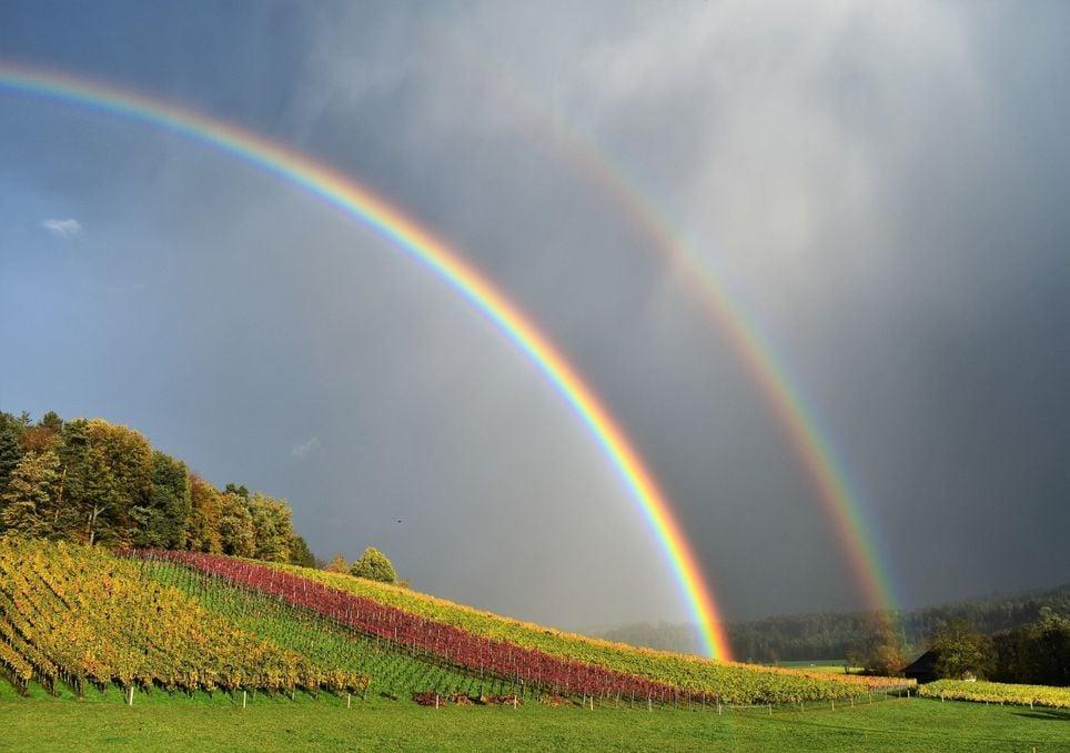 banda, alejandro, arco iris, naturaleza, luz, optica, reflexion