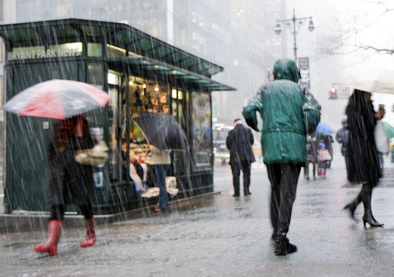 Frio e chuva no pós-carnaval