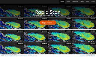 Posibilidades y los beneficios de las imágenes de satélites en modo de exploración rápida