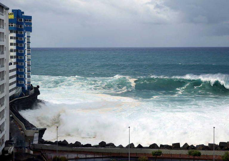 El aumento del nivel del mar es una de las principales consecuencias asociadas al cambio climático. Fotografía: RTVE