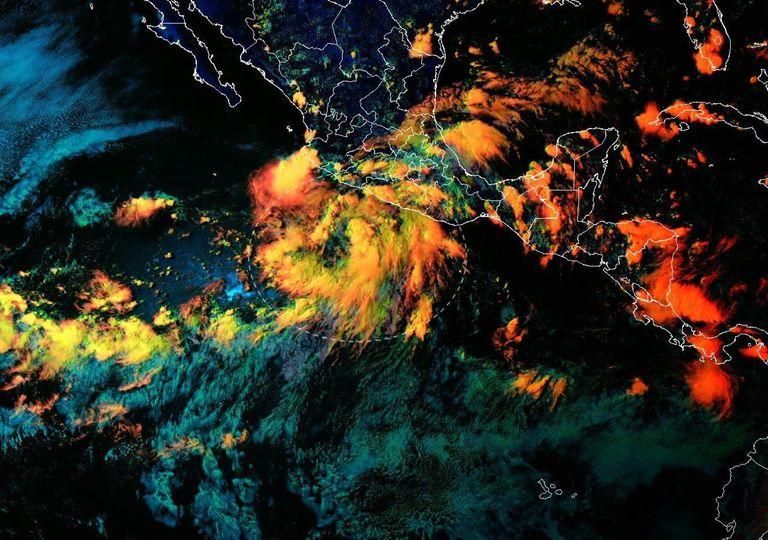 Zona de Inestabilidad en el Pacífico Mexicano