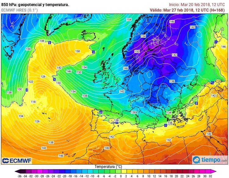 Frío Europa