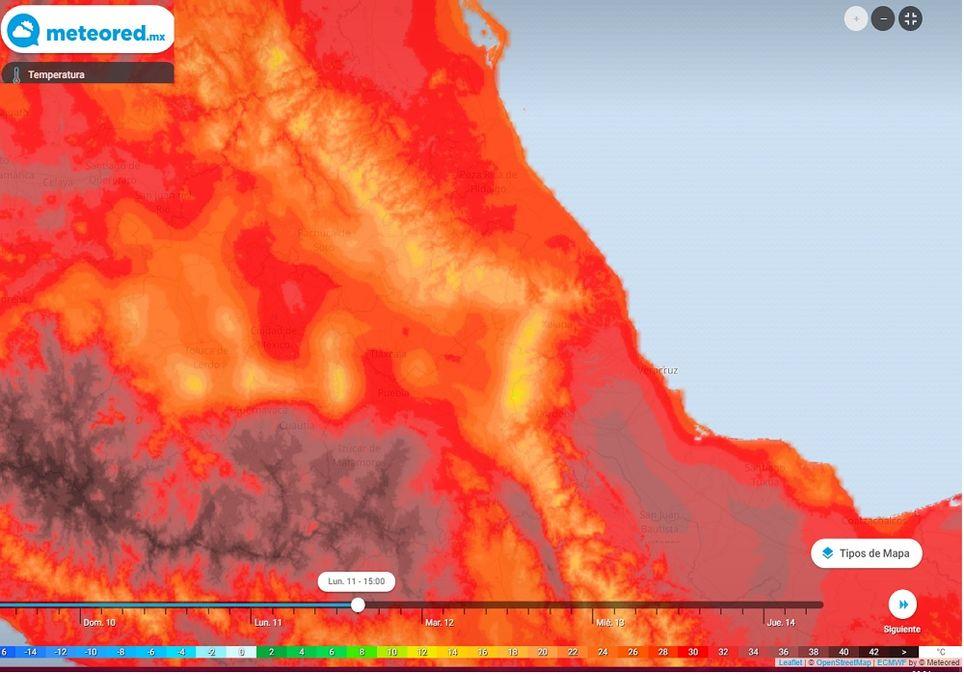 El pronóstico indica temperaturas cercanas a los 30°C a partir del lunes