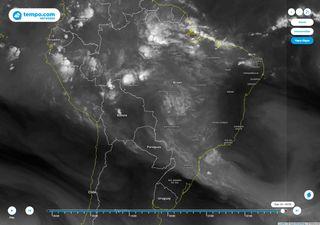 Potencial de chuva diminui e calor aumenta nas regiões CO, S e SE