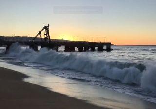 Olas de hasta 4 m por marejadas en playas del litoral central