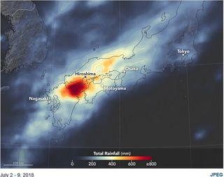 Precipitaciones e inundaciones severas en Japón: más de 120 muertos