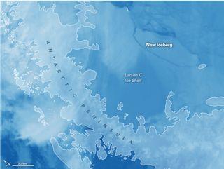 Preguntas y respuestas sobre la liberación de un iceberg masivo en la Antártida