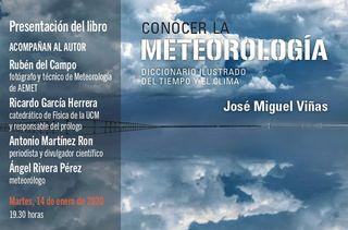 Presentación del libro: Conocer La Meteorología
