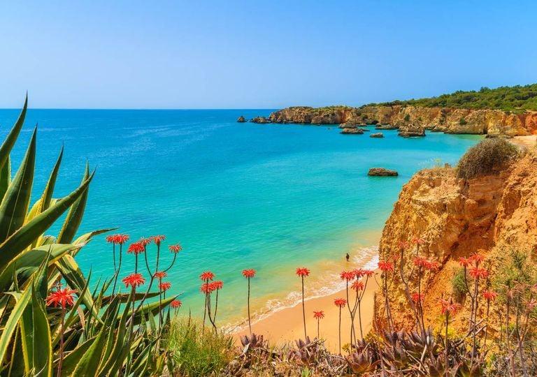 Algrave, praia, sol, mar