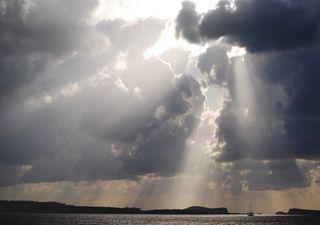 Un final de semana con posibles lluvias intensas en el sur