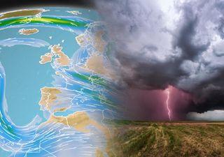 El chorro polar sigue desbocado: las tormentas fuertes volverán pronto