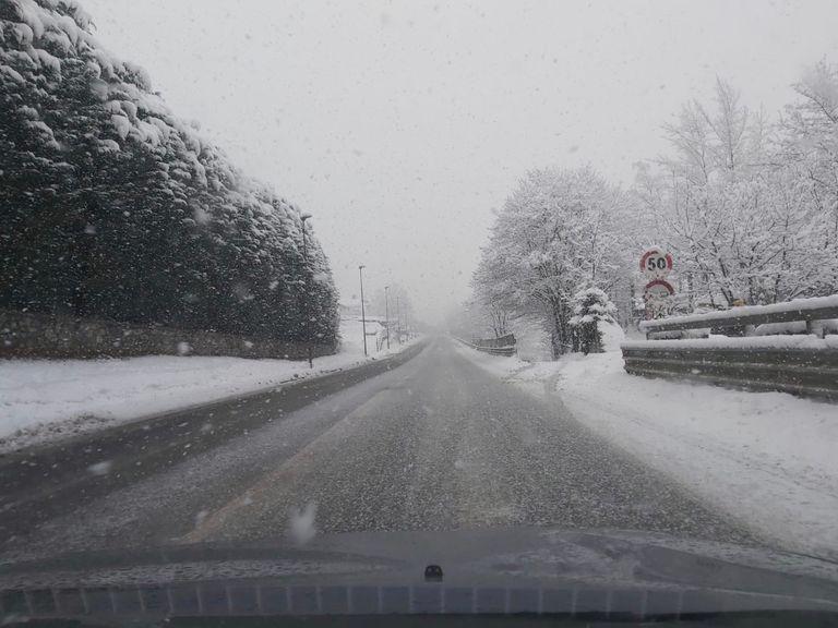 Località La Palud (AO), 105 cm di neve fresca nelle ultime 24 ore