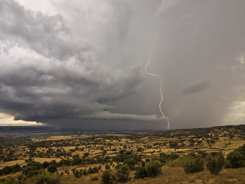 Primer Año Georreferenciando De Supercélulas En España. Parte I