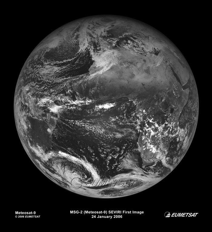 Primera Imagen Del Meteosat-9