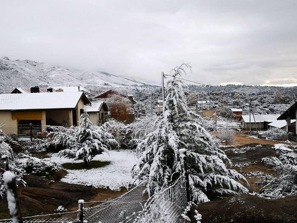 Pronóstico finde frío nieve lluvia