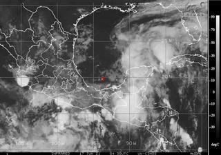 Probable depresión o tormenta tropical en el Golfo de México