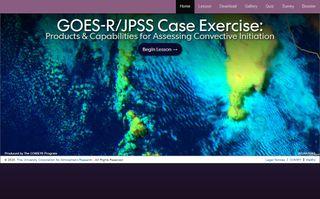 Productos de satélites GOES-R y JPSS para el pronóstico convectivo