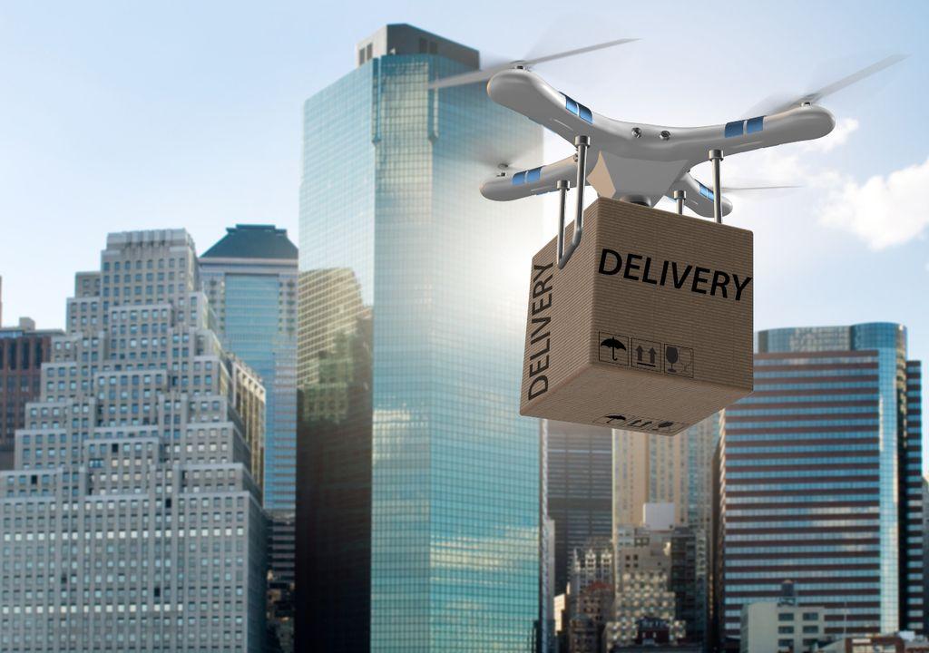 Dron Taxi aéreo delivery pronóstico