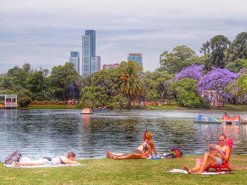 pronóstico climático Argentina Primavera Verano