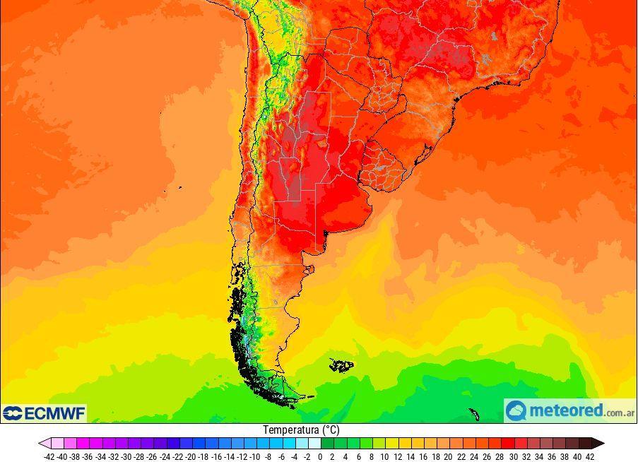 Semana Santa Pascuas temperaturas feriado