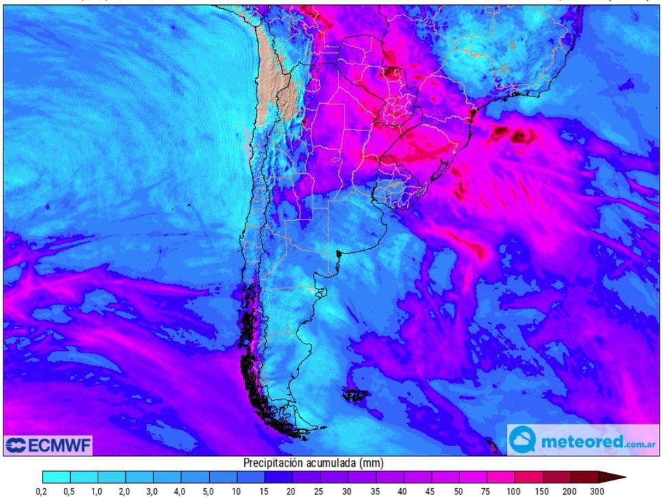 Chaco Corrientes Inundaciones Pronóstico Clima Tiempo Lluvias