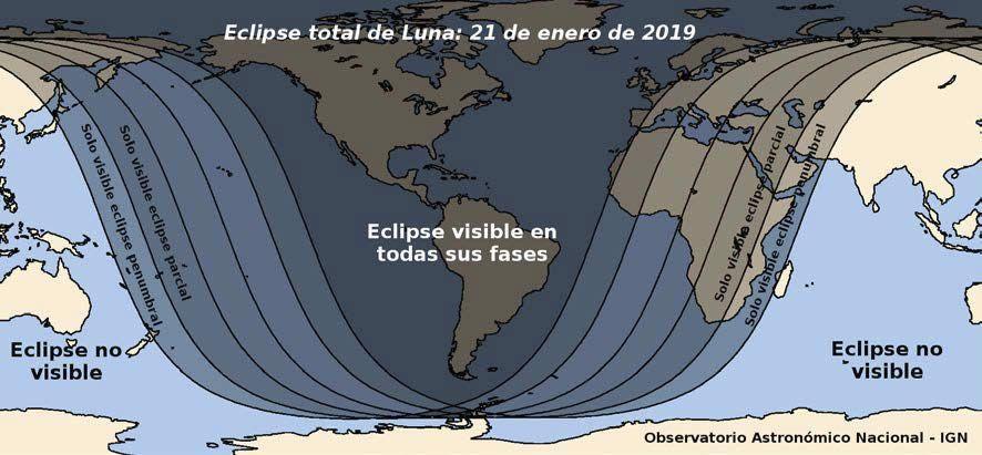 Pronto Con Un Eclipse Lunar Total Y Una Superluna De Sangre