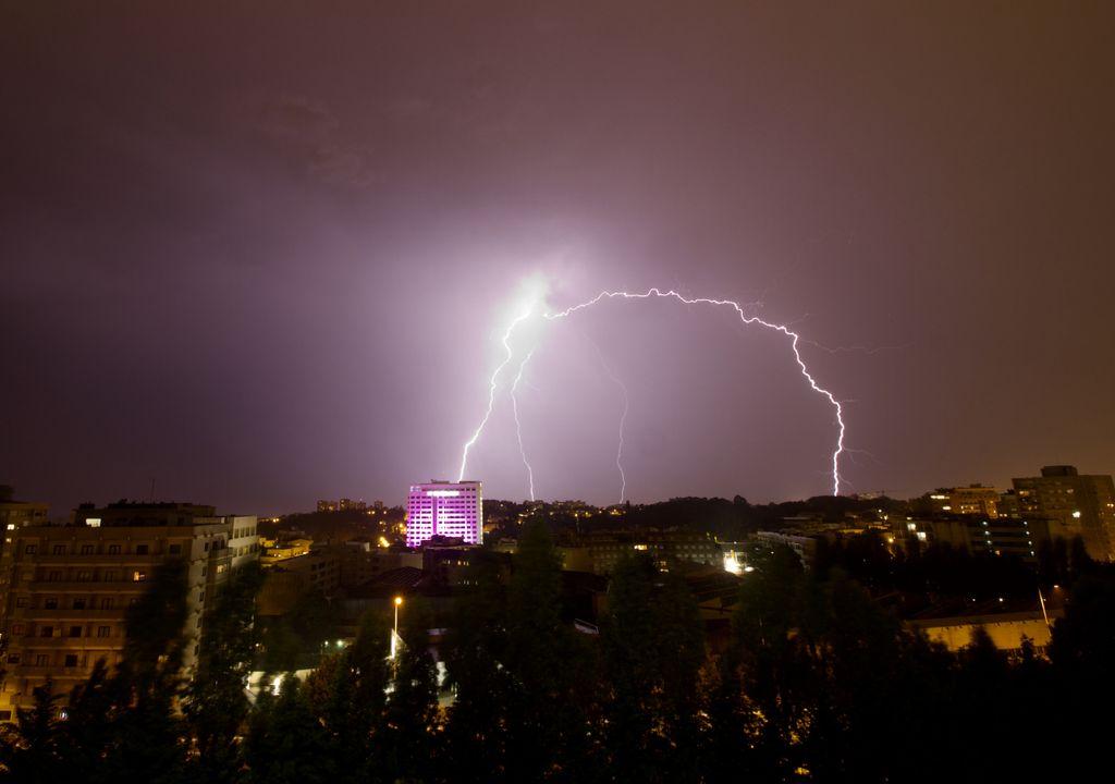 tempestade; mau tempo; chuva; trovoada; Portugal continental