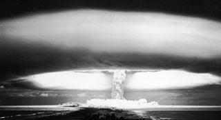 Pruebas nucleares de la Guerra Fría y los patrones de precipitación