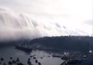 """Heftiges Video: Wolken-""""Tsunami"""" in Chile!"""