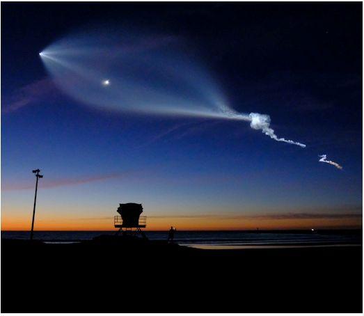 Puesta De Sol Muy Espacial