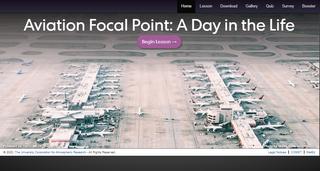 Punto focal de aviación en una ofician meteorológica