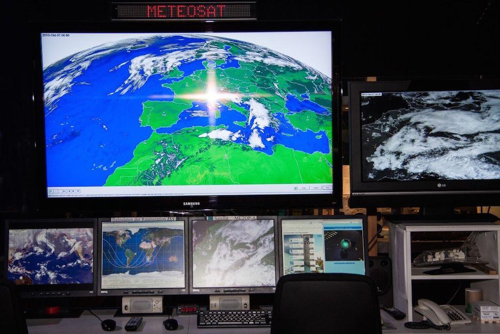 Nowcasting, radar, satélite meteorológico, previsión a corto plazo, teledetección