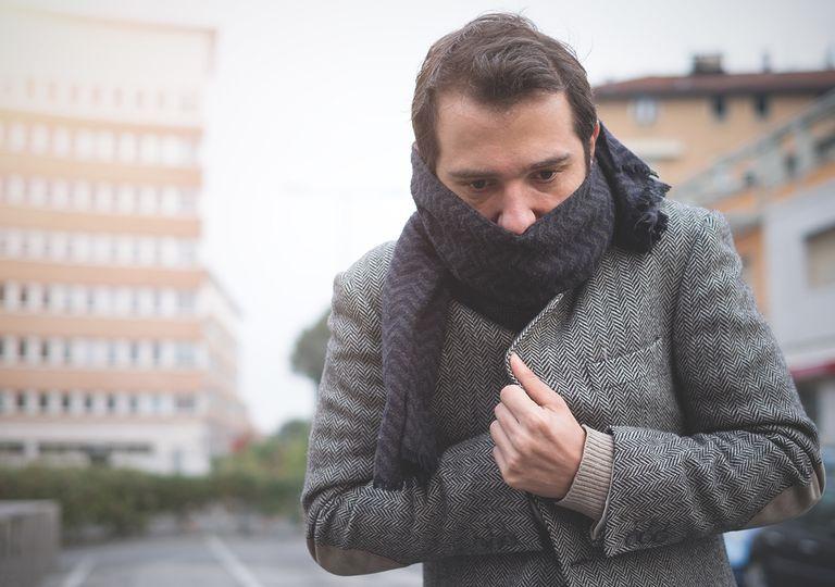 frío bufanda