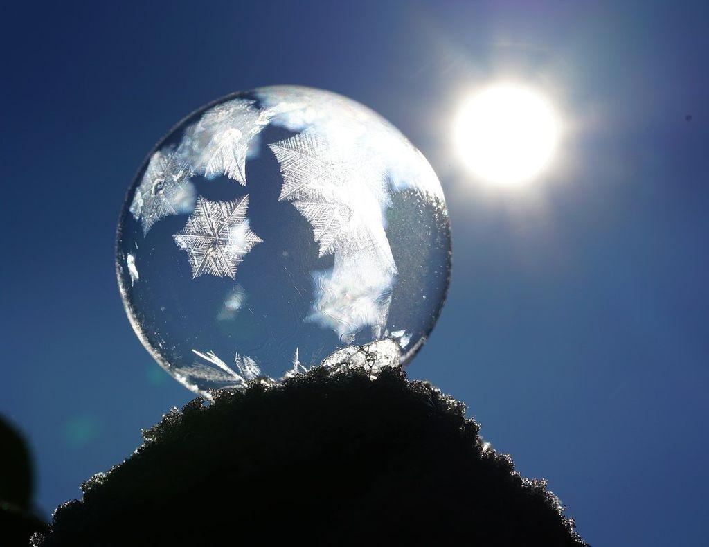 Bajada de temperaturas, nieve, heladas... está claro: el invierno.