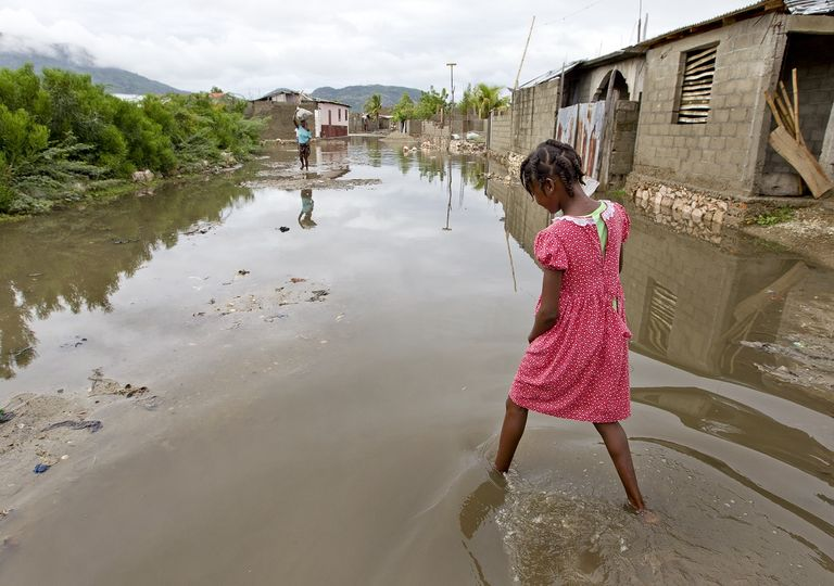 Un país vulnerable no solamente será impactado por desastre, también le será más difícil recuperarse posterior a él. Fotografía: UNDP