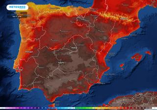 50 ºC en España, ¿qué debería suceder para alcanzarlos?