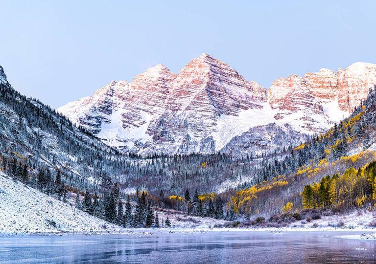 Neve; Montanhas Rochosas; EUA