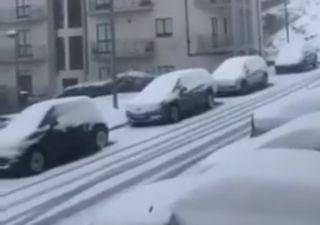 Março despede-se com neve nas regiões Norte e Centro de Portugal